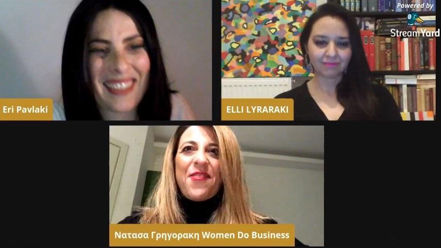 1ο Facebook Talk για το 2021 με την Έλλη Λυραράκη